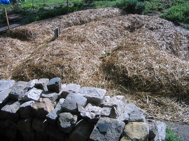 La culture sur buttes perma potagers for Permaculture rendement