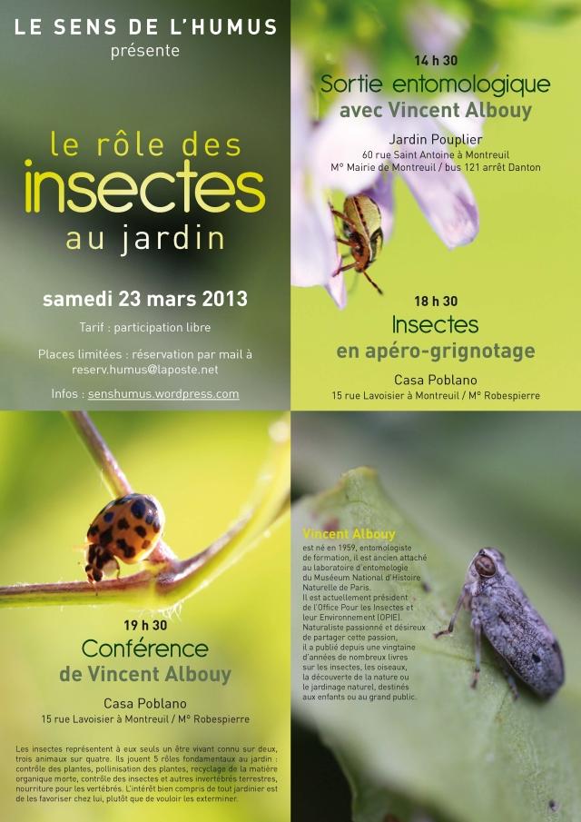 Le rôle des insectes au jardin