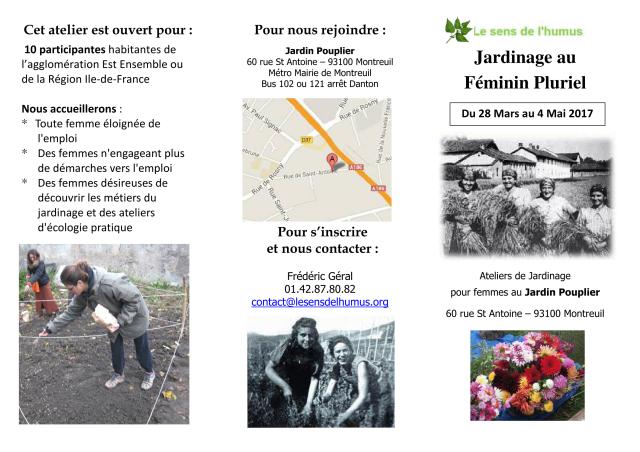 Jardinage pour femmes - plaquette mars 2017-1-1