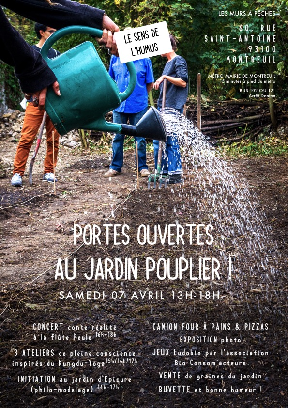 07 avril Porte ouverte Jardin Pouplier