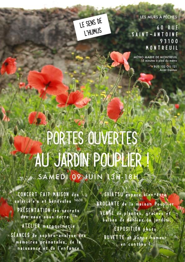 09 juin Porte ouverte jardin Pouplier